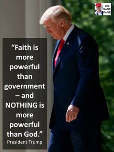 no matter if you call it God, Source, or The Power of Positive Thinking.Having a Strong Faith makes for a Happier, more Positively Productive Life.and Embodies a Great Leader with Strong Faith. Donald Trump, Great Quotes, Inspirational Quotes, Motivational, Lisa, Soli Deo Gloria, Strong Faith, Thing 1, Greatest Presidents