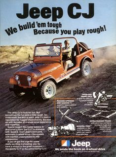 Jeep CJ-7 Renegade advertisment from 1979.