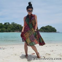 Psychedelic Cloth Dress-all 3colors-