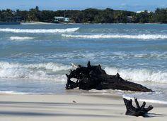 Windy day at Gillam Bay, Green Turtle Cay, Abaco, Bahamas