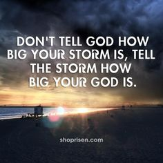 My God Is Bigger Than Anything I Face!!!
