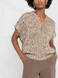 Knit Fashion, Fashion Outfits, Cable Knit Jumper, Pullover, Beautiful Outfits, Crochet Top, Knitting, Sweaters, Pattern