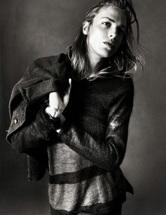 Top model Erik Andersson (Stockholmsgruppen, New York Model Management) fronts the masterfully shot Tiger of Sweden Jeans fall winter 2013 advertisement. Androgynous Boy, Androgyny, Pretty Boys, Cute Boys, New York Model Management, Boys Long Hairstyles, Jamie Campbell Bower, Tiger Of Sweden, Male Beauty