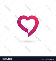 Heart symbol speech bubble logo icon design vector image on VectorStock Speed Logo, Care Jobs, Makers Mark, Wedding Designs, Icon Design, Adobe Illustrator, Vector Free, Bubbles, Dating