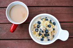 Blueberry and Vanilla Overnight Oats