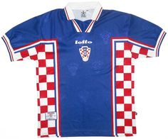 1998-01 Croatia Away Shirt L Vintage Football Shirts 83f67a67a