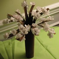 Cherry Blossoms Craft