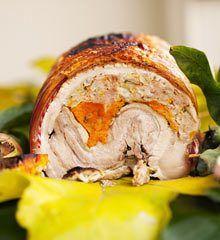 Nigel Slater's roast pork belly