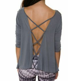 fashionable yoga tops - Google Search