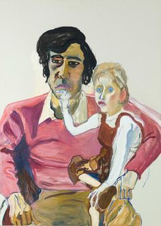 Alice Neel - Don Perlis and Jonathan, (American - Oil on canvas. Image © Estate of Alice Neel Franz Kline, Figure Painting, Painting & Drawing, Painting People, Modern Art, Contemporary Art, Female Painters, Alice, Museum Of Fine Arts