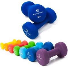 Neopren-Hanteln »Peso« Kurzhanteln in verschiedenen Gewichts- und Farbvarianten…