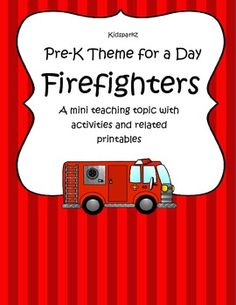 Pre-k Theme for a Day is a series of mini teaching topics that are focused towards preschool and Pre-K learners.  Although the activities are written to cover one full day of activities and related games, centers and other printables, there are enough ideas to extend the theme longer if needed. 36 pages. $2