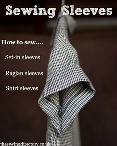 Dressmaking skills - Sewing sleeves guide from Merchant & Mills