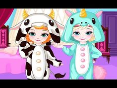 Elsa and Anna Dress Up Game