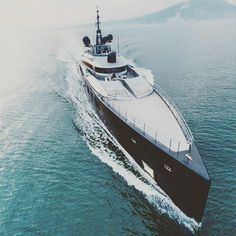 """""""O K T O"""" 217.10ft (66.40m) By ISA Yachts. Exterior design by Andrea Vallicelli with interior styling"""