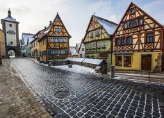 Most Beautiful Places to Visit in Germany, including Rothenburg ob der Tauber.