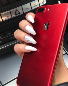 chic, iphone, and manicure image