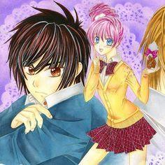 "David und Jasmin ^o^ Aus meinem #Manga ""Küss mich... NICHT!"" #anime #otaku #art #mangaart #mangazeichnung #mangagirl #shoujo #copic…"