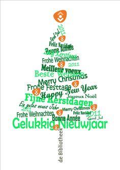 Kerst, in alle talen en met bibliotheek reclame uit 2011! Maar dat kan ik zelf wel anders krijgen!