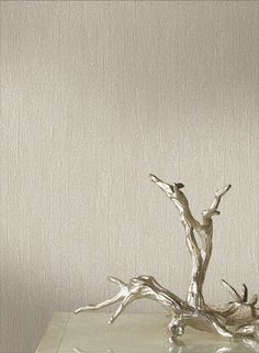 Krinkled Wallpaper in Silver design by York Wallcoverings