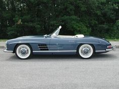 1962 Mercedes-Benz 300 SL Roadster The alloy engine design, first introduced with the two Paul O'Shea Racers of 1957 was put into production. A saving...