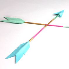 Making mod arrows is easy, and they are great for party or home decor!