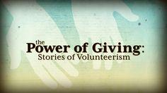 volunteer giving power