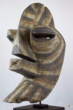 Songye Male Kifwebe African Mask - Congo DRC