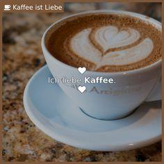 Ich liebe Kaffee.