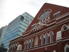 The Ryman in Nashville, TN.