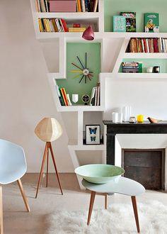 Bibliothèque design : nos inspirations - Marie Claire Maison