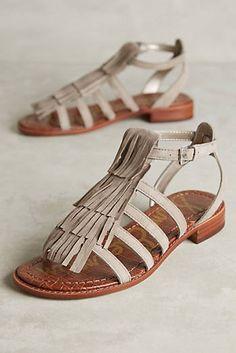 f5b462047be Sam Edelman Estelle Sandals Fringe Sandals
