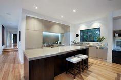Modern Style House Plan - 4 Beds 2.5 Baths 3584 Sq/Ft Plan #496-18 Interior - Kitchen - Houseplans.com