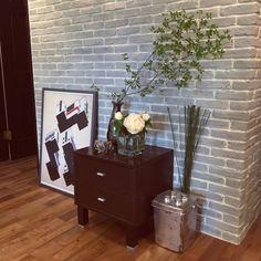 kan2さんの、エイジング塗装,LEGOバケツ,IKEA,花のある暮らし,NO GREEN NO LIFE,ブリックタイル,バウハウスポスター,壁/天井,のお部屋写真