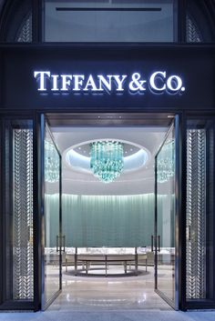 Tiffany and Co. Bellavita store. Lighting by Lasvit.