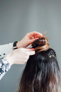 Half up - Half Down #hair #howto #tutorial
