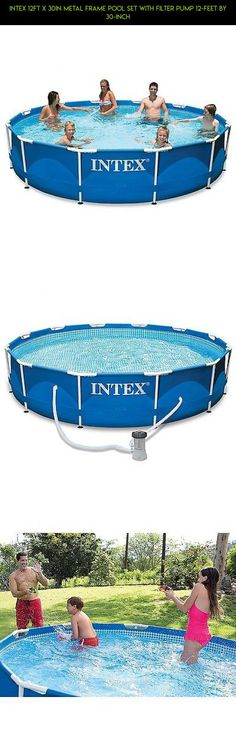 Intex 12ft X 30in Metal Frame Pool Set with Filter Pump 12-Feet by 30-inch #parts #technology #drone #gadgets #fpv #products #camera #shopping #plans #intex #pools #by #kit #racing #tech
