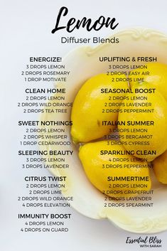 Lemon Diffuser Blends | dōTERRA Essential Oils