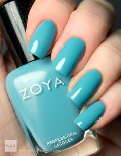 Zoya Rocky Summer 2013 Stunning Collection another of my faves almost time for Spring Pretty Nail Colors, Pretty Nail Art, Beautiful Nail Designs, Cute Nail Designs, Gel Nail Art, Nail Manicure, Mani Pedi, Cute Nails, My Nails