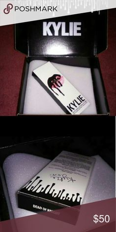 🎃🔥Dead of Knight Lip Kit by Kylie Jenner🔥🎃 Brand New Lip kit by Kylie Jenner Cosmetics  Dead of Knight lip stick + lip liner only  Comes in original shipping box Kylie Cosmetics Makeup Lipstick