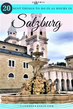 Best Things To Do In Salzburg, Austria In Two Days - Land Of TravelsThe Best Things To Do In Salzburg, Austria In Two Days - Land Of Travels Amazing non-touristy things to do in London. London off the beaten path. Europe Travel Guide, Us Travel, Family Travel, Places To Travel, Travel Destinations, Group Travel, European Vacation, European Destination, European Travel