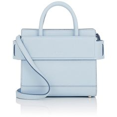 Givenchy Women's Horizon Mini Crossbody Bag (26.486.895 IDR) ❤ liked on Polyvore featuring bags, handbags, shoulder bags, light blue, givenchy handbags, givenchy shoulder bag, mini crossbody purse, mini purse and shoulder strap bags