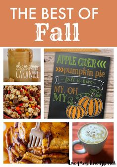 I found the cutest fall printable and the best recipes for autumn!