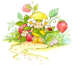 Classic Strawberry Shortcake - Berrykins!