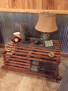 Lobster Trap Table From Vacation 2014.