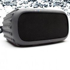 Grace Digital Portable Waterproof Bluetooth Speaker
