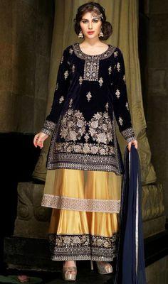 Buy designer salwar kameez online India at Ethnic Trendz. Shop the latest fashion of salwar suits for women, Anarkali suits & Patiala suits at best price. Anarkali Dress, Anarkali Suits, Lehenga Choli, Pakistani Suits, Chanderi Suits, Anarkali Churidar, Pakistani Dresses, Palazzo Suit, Palazzo Style