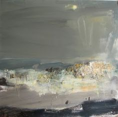 Joan Eardley ( 1921 - Summer Grasses and Barley on the Clifftop The Wave Seascape . Contemporary Landscape, Abstract Landscape, Abstract Art, Seascape Paintings, Landscape Paintings, Claude Monet, Art Moderne, Gouache, Cool Art