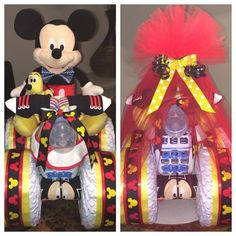 Mickey Mouse Diaper Bike