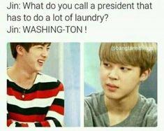 BTS JIN dad jokes